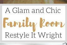 Living + Family Room Ideas
