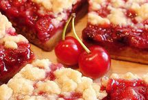 Cherry Recipes / Desserts and Drinks made with Cherries