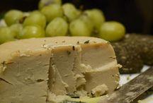 Vegan milks and cheeses