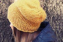 Winter Hats/Knit Beanies / knit wool hats, knitting beanies handmade by NastiaDi.