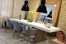 Loft & Roomers - Dining Options / Table and chair selections ideal to gather friends and family this festive season!