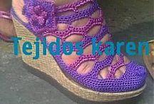 Вязание-Обувь