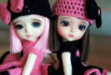 My dolls I like