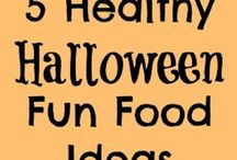 Halloween: decoration, film, food