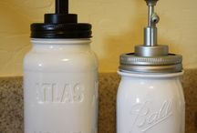 Mason Jars / anything to do with mason jars that looks cool and doable. ;)