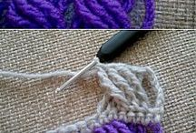 Crochet sts