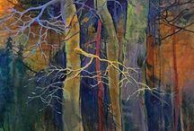 Art: Carol Nelson, mixed media