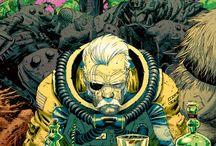 9th Art |  Heavy Metal / Sci-Fi Fantasy, High Tech, French Style Comic Illustration