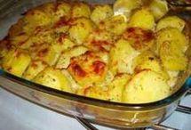 receita de batata chic