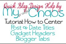 Blogging Tips / A collection of blogging tips I find useful.