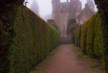 Castle and garden