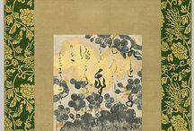 Brush and Poetry   -   The scent of haiku /  zen, poetry like haiku, ink painting, calligraphy