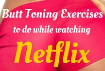 Butt toning exercise