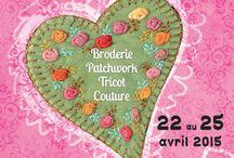 Pour l'Amour du Fil 2015 / du 22 au 25 AVRIL 2015 Les Arts du Fil s'exposent en grand pour cette 7ème édition ! http://www.pourlamourdufil.com/fr/default.aspx