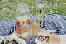 Summer Entertaining Ideas / Celebrating summer brunches and picnics with Ecco Domani Wine.