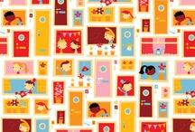 fabrics / by Sharon Thoms