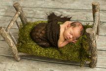 My work : new born baby / Baby, my hobby
