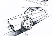 Car Design   Clay Modeling / La mia passione principale, uno degli obbiettivi che mi sono prefissato, lavorare al modello di un' Autovettura. Ecco una raccolta di immagini che rappresenta il mio sogno nel cassetto / by Filippo Mura