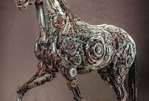 Mechanical horses