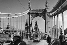 Brücken in Budapest