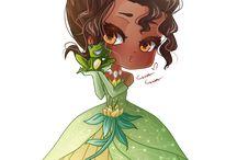 Disney Księżniczka i żaba `The Princess and the Frog `