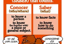 spanish--saber y conocer
