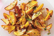 Rice, potatoes, healthy carbs