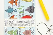 Stationary / Notebooks, cards, and beautiful paper goods