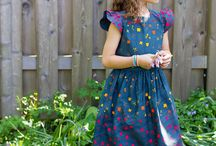 sewing- skirt and dress for girls