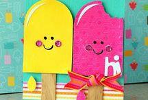 summer cards preschool