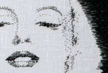 FACE / http://chihoikeda.wix.com/embroidery