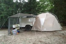Self build off road camping trailer