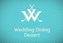 Wedding Desserts / Sweet treats to end a wedding day full of sweat dreams. Desserts to die for. www.willoughbygolfclub.com