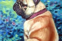 French Bulldog Art by Lyn Hamer Cook / My Art of the French Bulldog