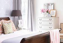 Master bedroom/bath / by Kara Rapp