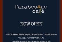 L'arabesque café et La Librairie / Boutique Restaurant and café - bookstore .