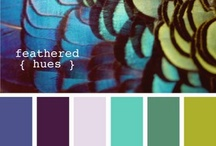 Color, Color, Color / Color palettes to help pick the perfect hues to compliment your favorite color or theme.  Don't ever be afraid to add accent colors to add depth and texture to your wedding details.
