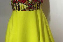 Model pakaian afrika