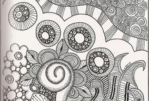 Zentangles / by Quilted Fabric Art