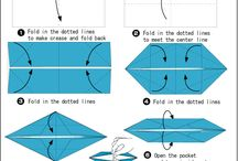 Origami Boats / Ideas to make paper boats