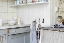 Küchenmöbel - Vorhang