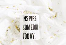 INSPIRE SONEONE TODAY