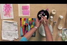 Painting Techniques, tutorials & tips