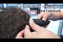 Vidéos et tutos pour lisser au fer à lisser / Vidéo pour bien lisser ses cheveux avec un fer à lisser