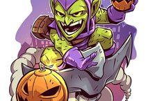 super héroes y super villanos