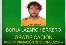 Borja Lazaro esta desaparecido en el desértico departamento de La Guajira, en el norte de Colombia / Borja Lazaro esta desaparecido en el desértico departamento de La Guajira, en el norte de Colombia  Para facilitar cualquier información Teléfonos: 0057 3213940581 0057 3145915868 Web: Policía Nacional de Colombia