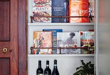 Favorite Cookbook Shelves