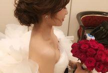 結婚式 ヘアセット