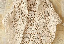 Hekel van mooi shawl