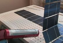 solar panels from scratch